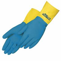 Unsupported Flock Lined Glove W/Neoprene Over Latex