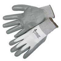 Ultra Thin Nitrile Palm Coated Black Knit Gloves