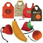 Custom Fruit Shape Foldable Tote Bag