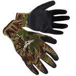 Custom Camo Textured Latex Palm Coated Gloves