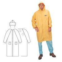 PVC Polyester 2 Piece Yellow Rainsuit