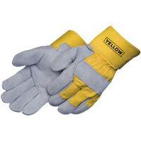 Gray Select Split Cowhide Work Gloves