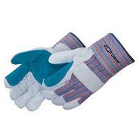 Economy Split Leather Double Palm Work Gloves