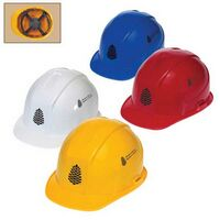 Cap Hard Hat W/4 Point Pinlock Suspension