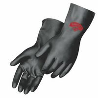 Unsupported Flock Lined Glove W/Neoprene