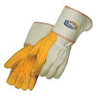 Golden Chore Glove Gauntlet Cuff