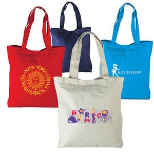 Vertical Canvas Tote Bag