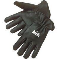 Premium Black Grain Deerskin Driver Glove