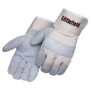 Personalized Economy Grade Cowhide Leather Palm Gloves!