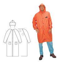 PVC Polyester 2 Piece Orange Rainsuit