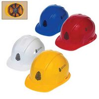 Low Profile Cap Hard Hat W/6 Point Pinlock Suspension
