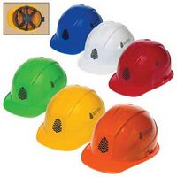 Low Profile Cap Hard Hat W/6 Point Ratchet Suspension