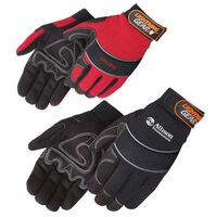 Premium Simulated Leather Reinforced Palm Mechanic Glove