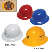 Full Brim Hard Hat W/6 Point Pinlock Suspension