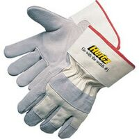 "Select Split Cowhide Work Gloves, 2-1/2"" Cuff"