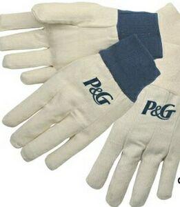 Customized Cotton Canvas Gloves!