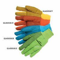 10 Oz. Canvas Work Gloves W/PVC Dot