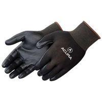 Ultra Thin Black Nitrile Foam Palm Coated Black Knit Gloves