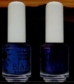 Color Change Nail Polish - Ocean Blue to Midnight Purple - N1001 ...
