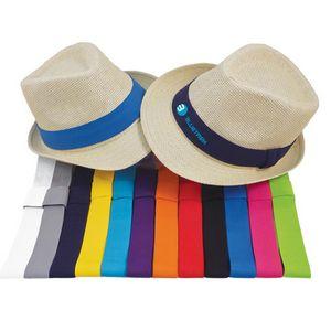 Nature Straw Fedora Hat