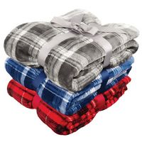 Flannel Plush Pattern Blanket