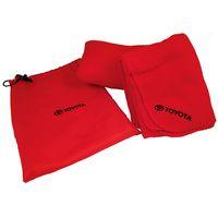 Fleece Blanket/ Pillow w/ Nylon Bag All in 1 - Travel Set
