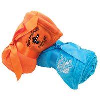 Luxury Plush Blanket w/ Ribbon