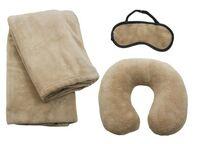 Travel Set w/ Blanket, Pillow & Mask