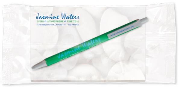 BIC Clic Stic Pen w/ 25 Sheet Notepad (5