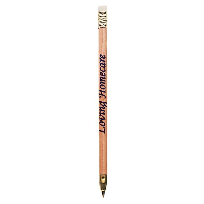 Arrowhead Natural Pen - 1 Colour Imprint, #55041