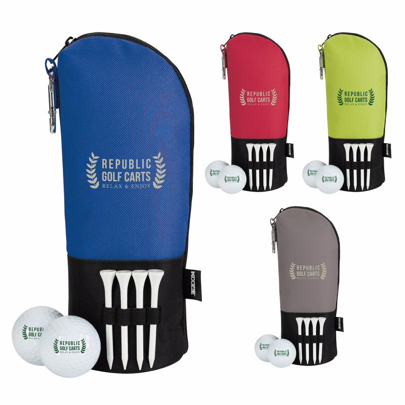 Koozie Mantra Golf Kit w/Titleist DT TruSoft Golf Balls, #62438, 1 Colour Imprint