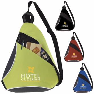 Atchison Color Splash Sling Backpack - 1 Colour Imprint