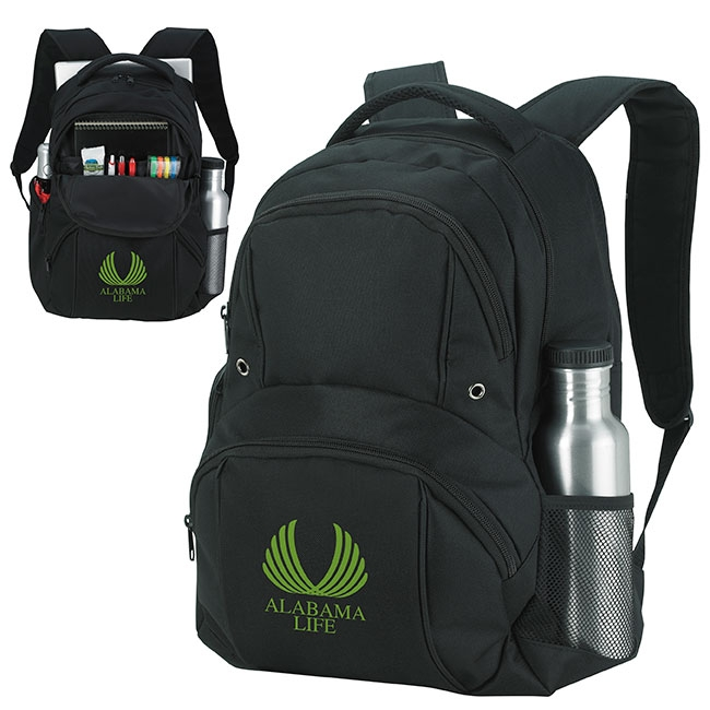 Business Backpack - 1 Colour Imprint