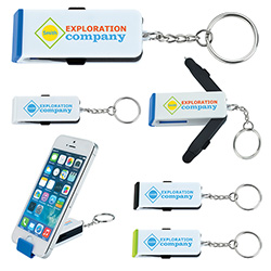 Wing Tech Keychain - 1 Colour Imprint