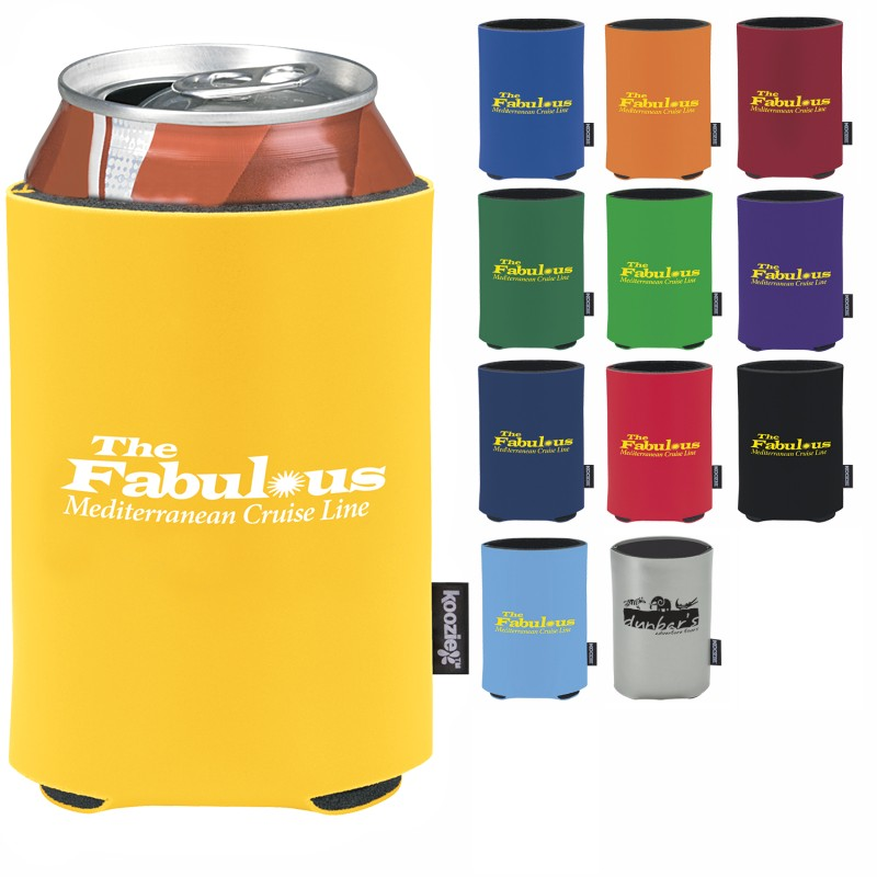 Koozie Deluxe Collapsible Can Kooler - 1 Colour Imprint, #45231