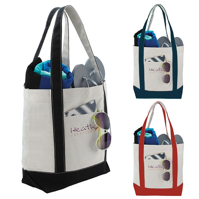 Marina Tote Bag - 1 Colour Imprint, #15675