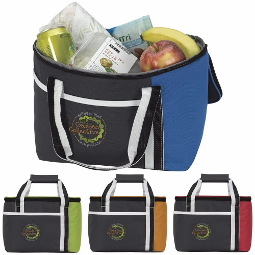 Atchison Calling All Stripes Lunch Cooler - 1 Colour Imprint