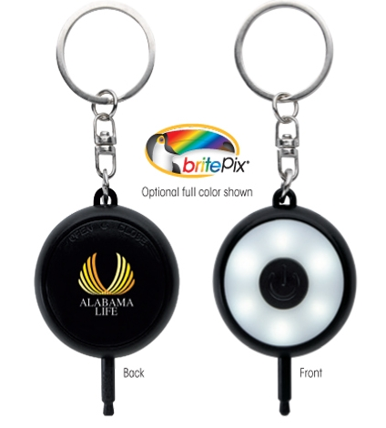 Selfie Keychain - 1 Colour Imprint