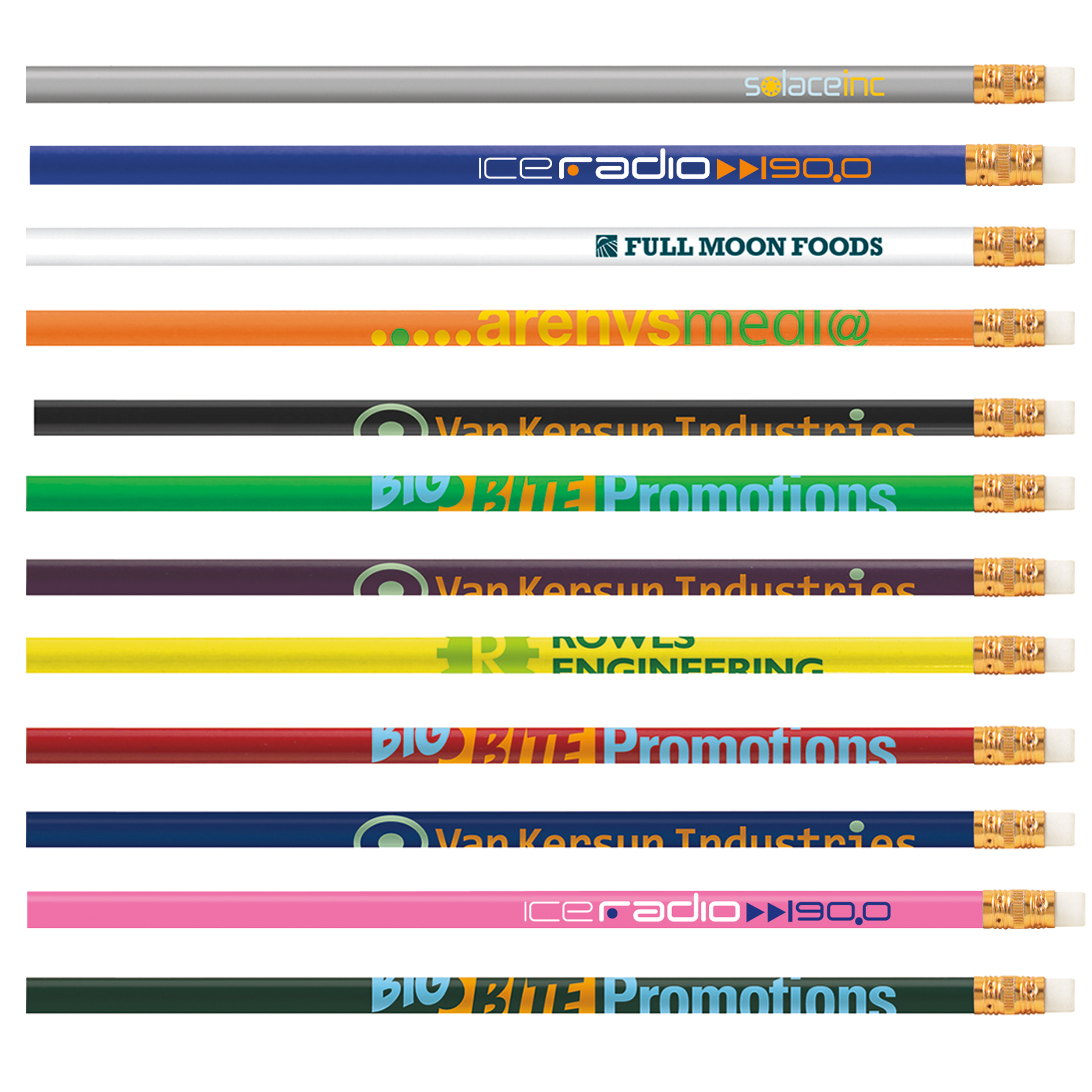 BIC Pencil - Solids - 1 Colour Imprint, #BPS