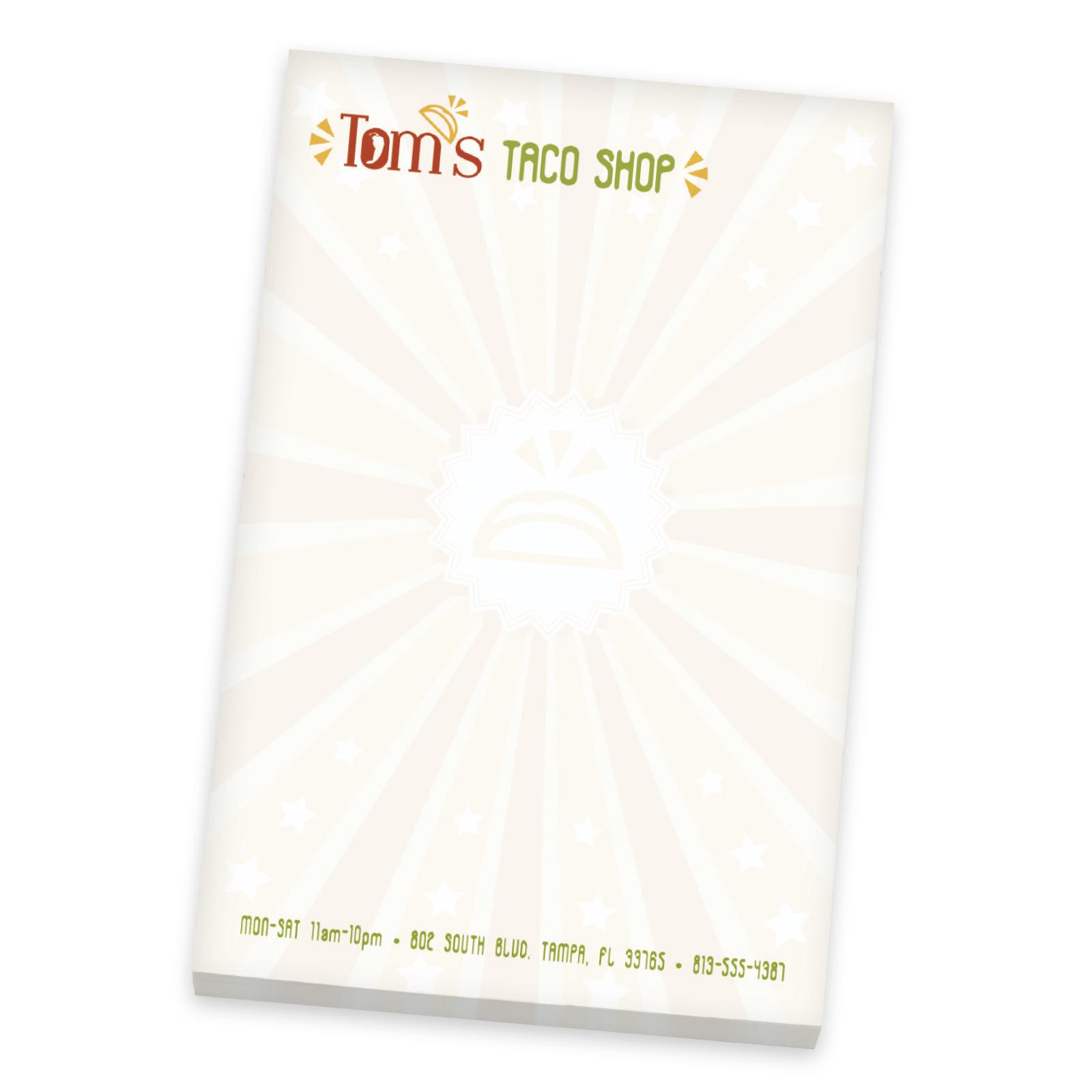 BIC 25 Sheet Non-Adhesive Scratch Pad (4