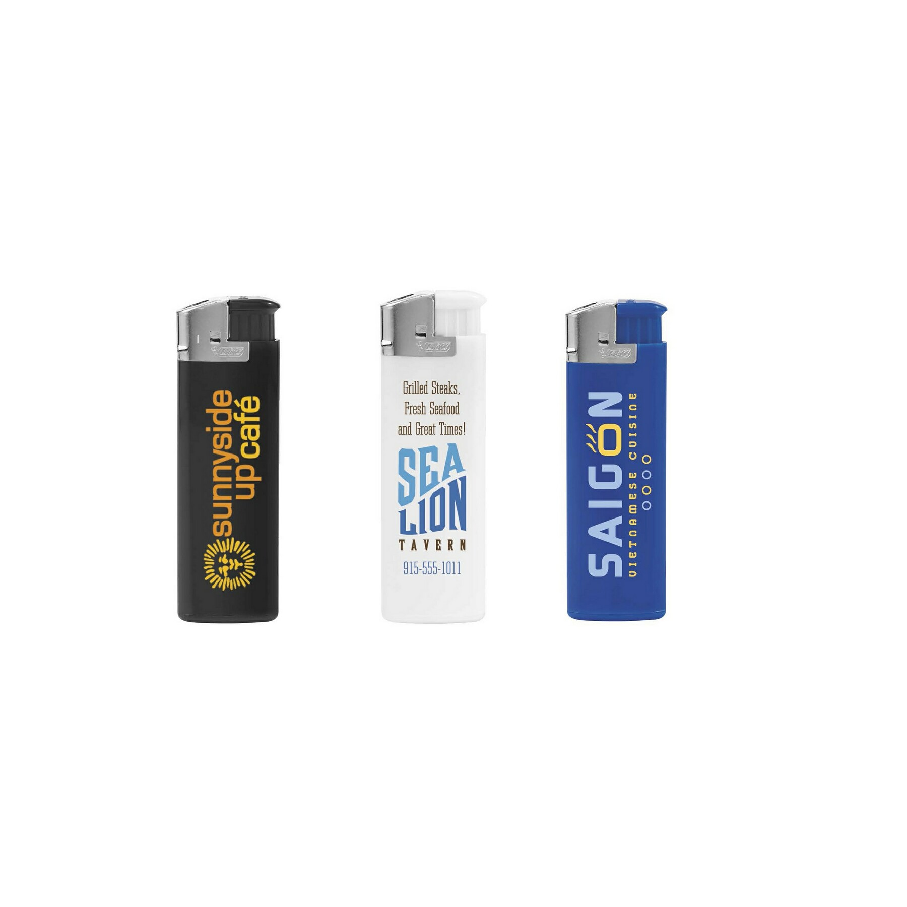 BIC J38 Electronic Lighter - 1 Colour Imprint