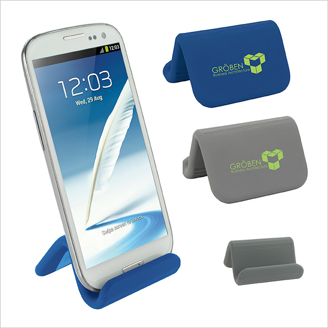 Silicone Bendable Phone Stand - 1 Colour Imprint