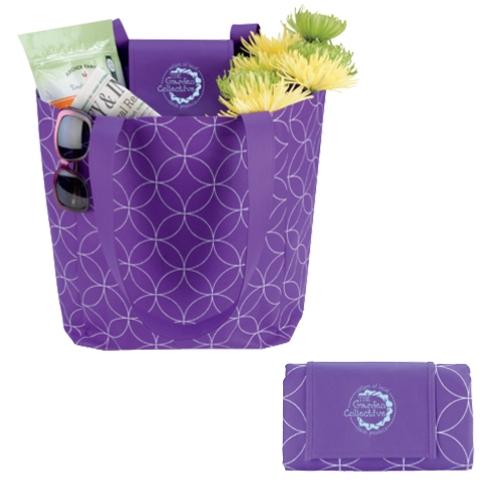 Foldable Tote Bag - 1 Colour Imprint
