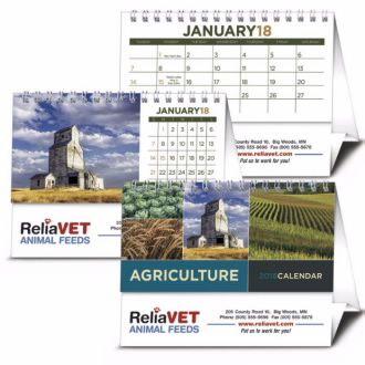 Triumph Agriculture Desk Calendar, #4242, 1 Colour Imprint