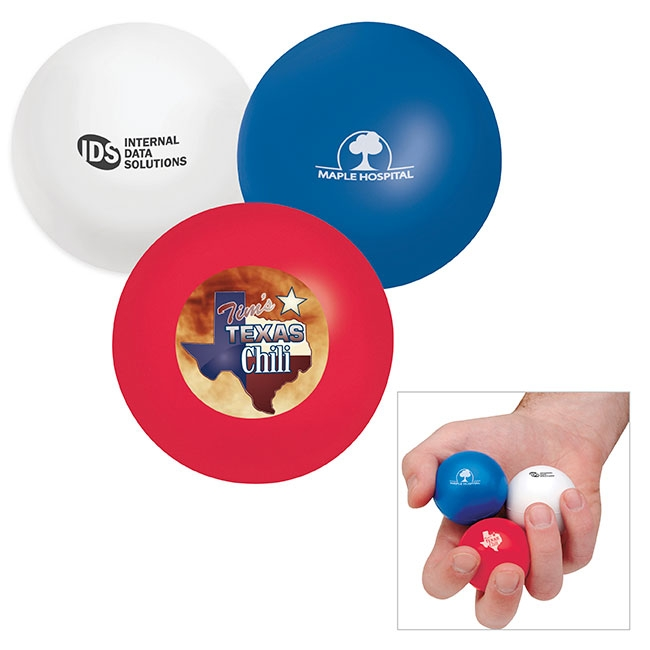 Stress Mini Balls - 1 Colour Imprint