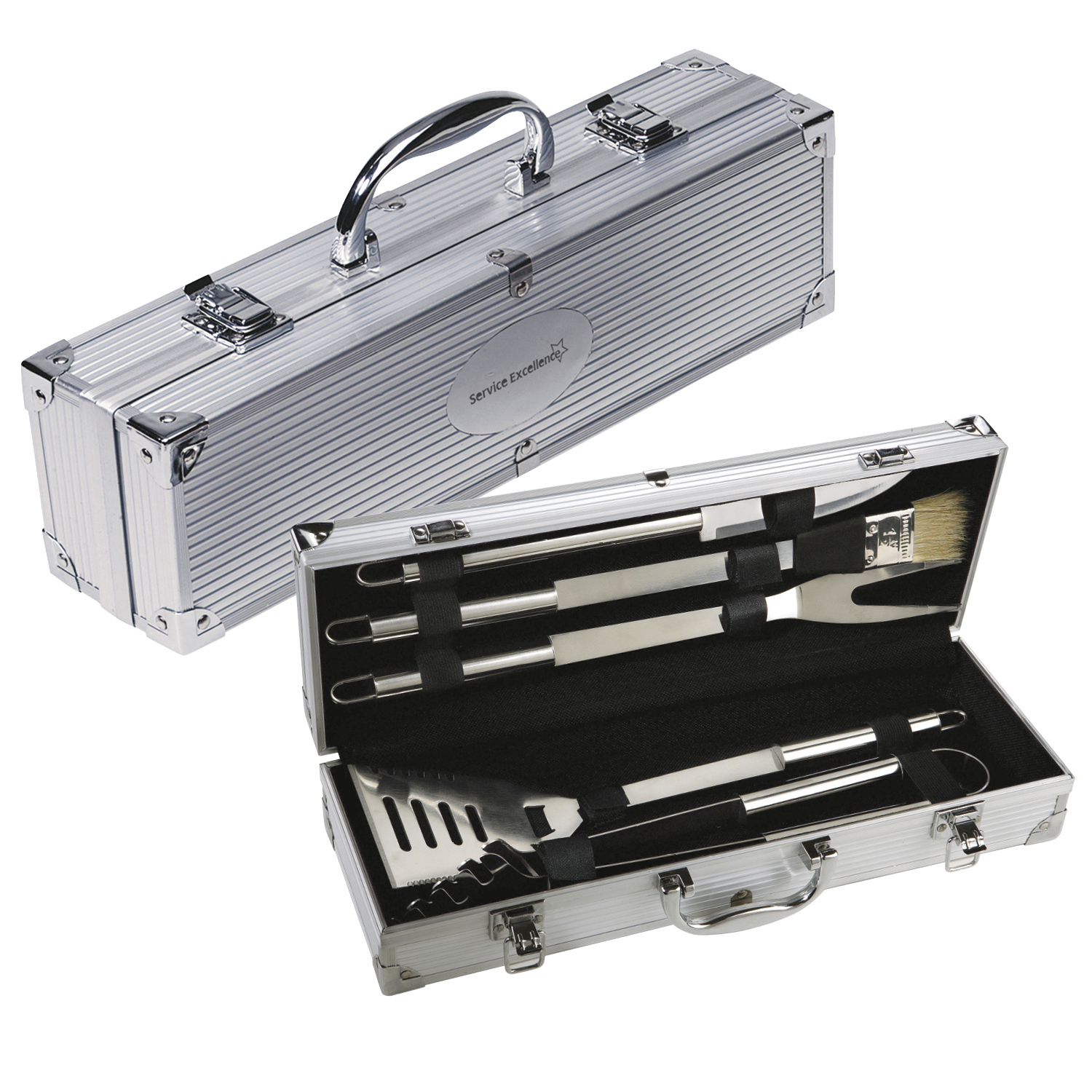 BBQ 5-Piece Set - 1 Colour Imprint