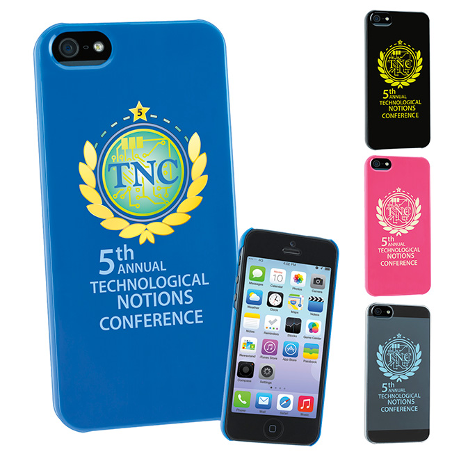 Phone Hard Case5 - 1 Colour Imprint