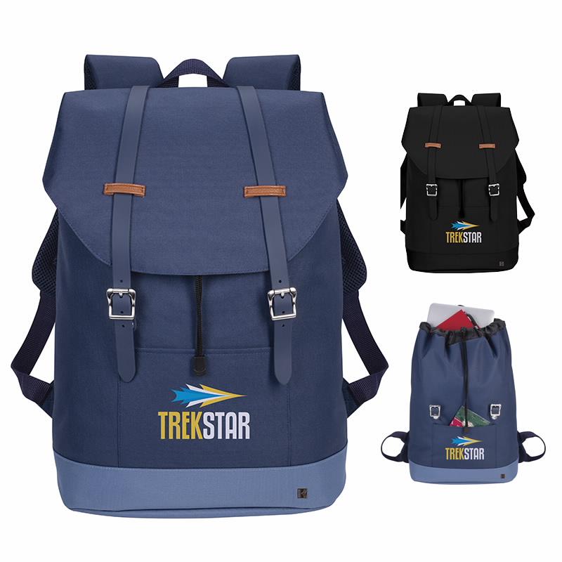 Kapston Jaxon Backpack - 1 Colour Imprint