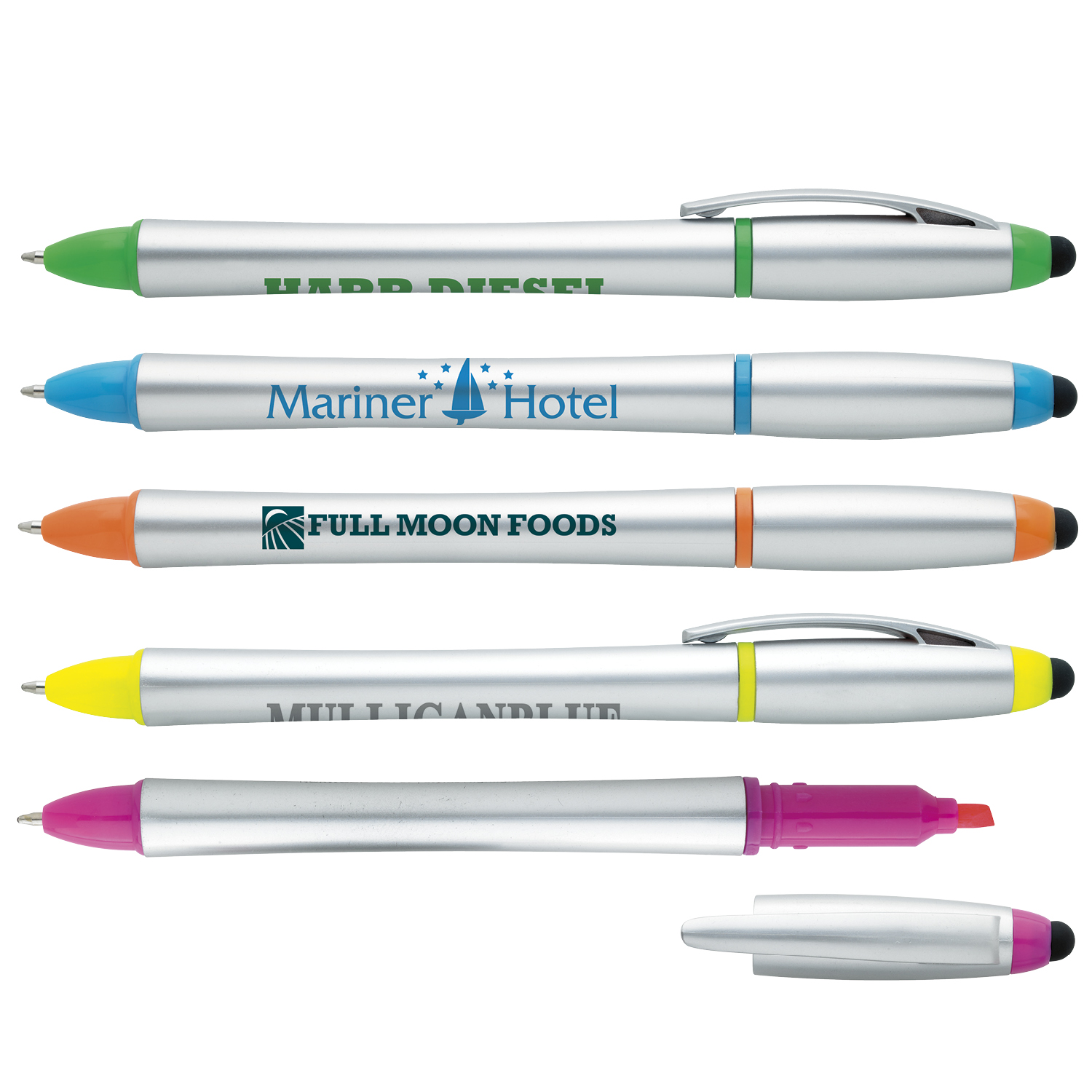 GoodValue Stylus Highlighter Pen Combo, #55727, 1 Colour Imprint