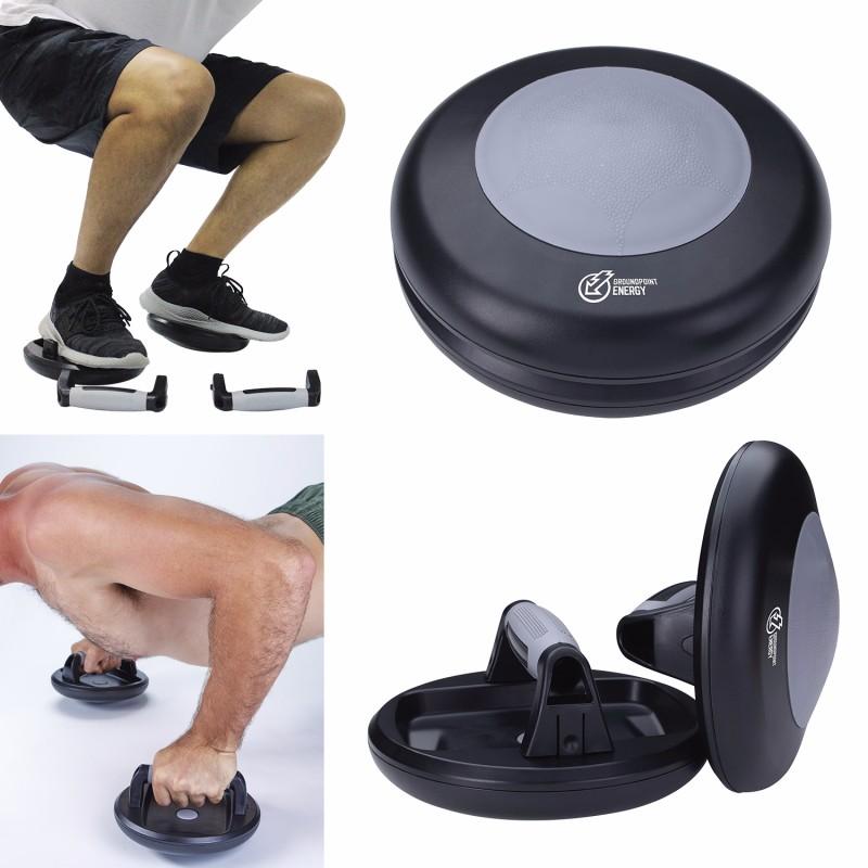 360° Rotating Push-Up Grips, #41108, 1 Colour Imprint